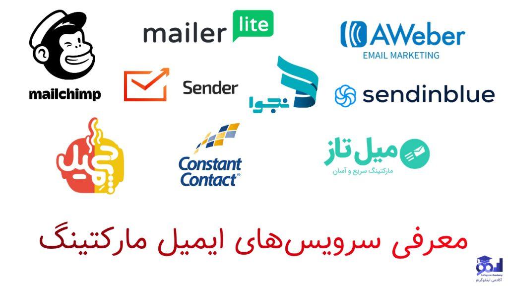 سرویس های ایمیل مارکتینگ