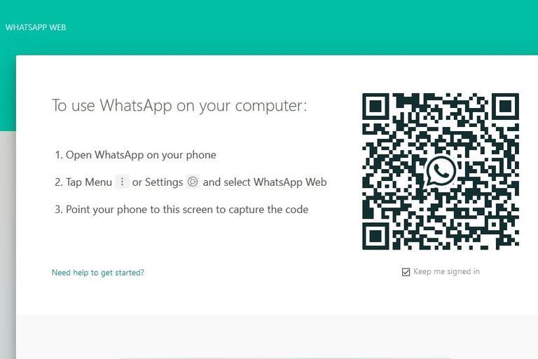 آموزش راه اندازی واتساپ تخت وب