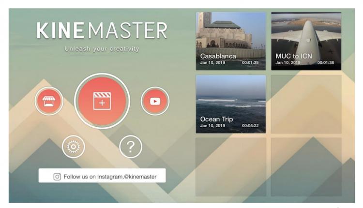 اپلیکیشن ساخت موشن گرافیک موبایل