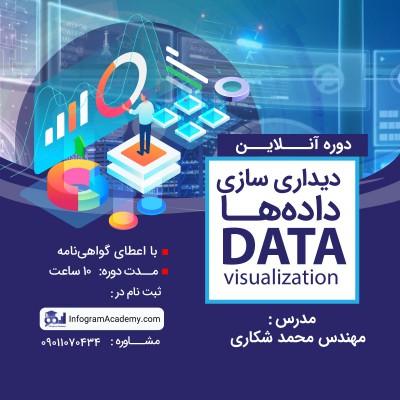دوره آنلاین دیداری سازی دادهها (Data Visualization)