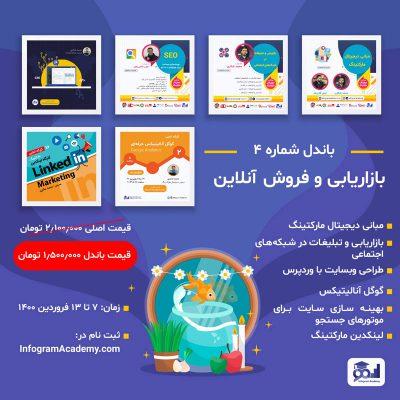 باندل 4 – بازاریابی و فروش آنلاین
