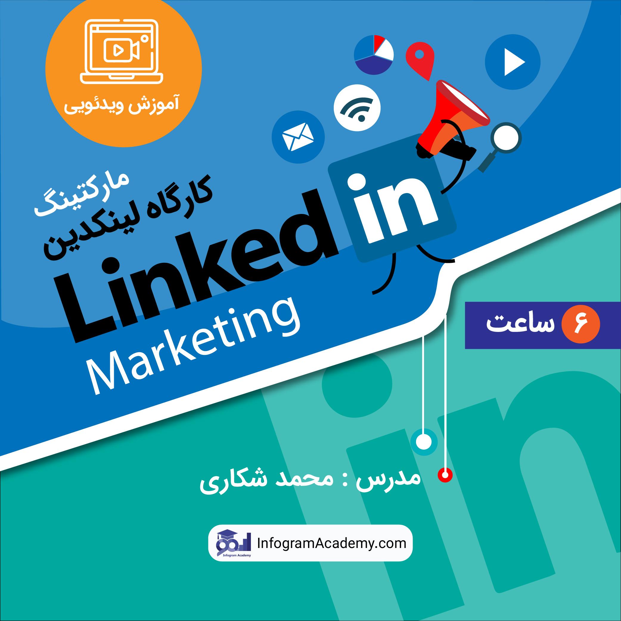 Linkdin Marketing-Video Poster